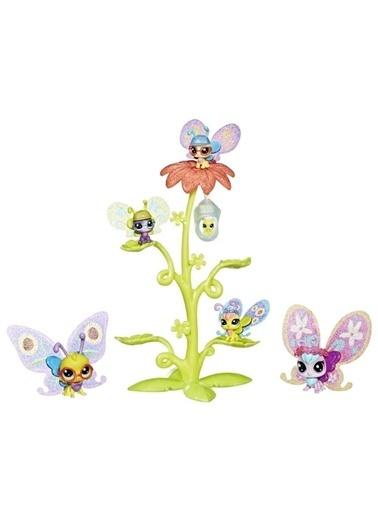 Littlest Pet Shop Littlest Pet Shop Süslü Kelebek Miniş Ailesi Renkli